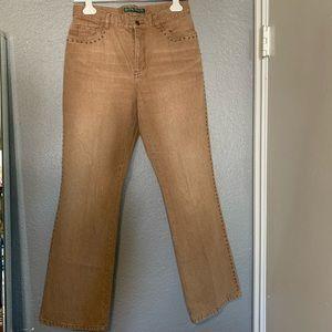 Ralph Lauren studded jeans